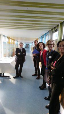 Inauguration de la fresque René Muret à Sevran