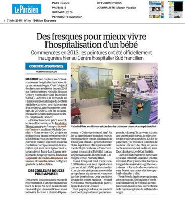 Article du Journal Le Parisien Essonne du 7 juin 2018