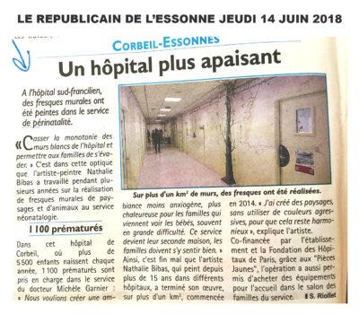 Article du Journal Le Républicain du 14 juin 2018