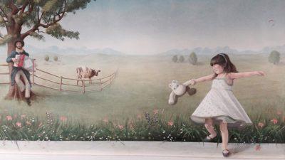 Panoramique Petite Fille