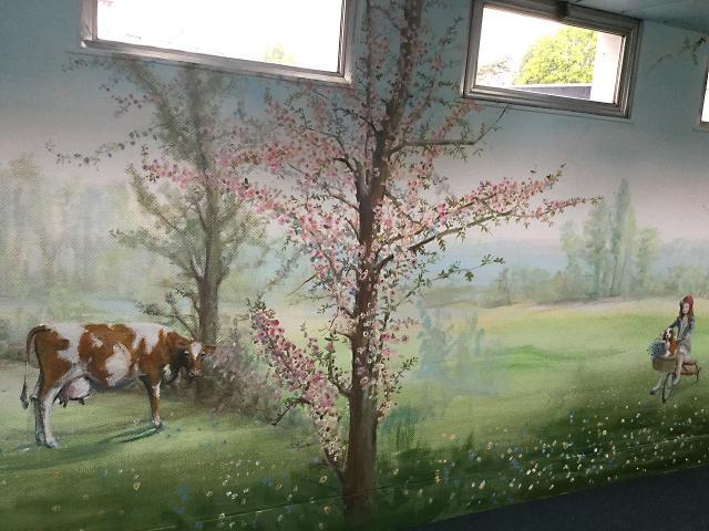 Panoramique - Accueil public - Sevran - Les 4 saisons.