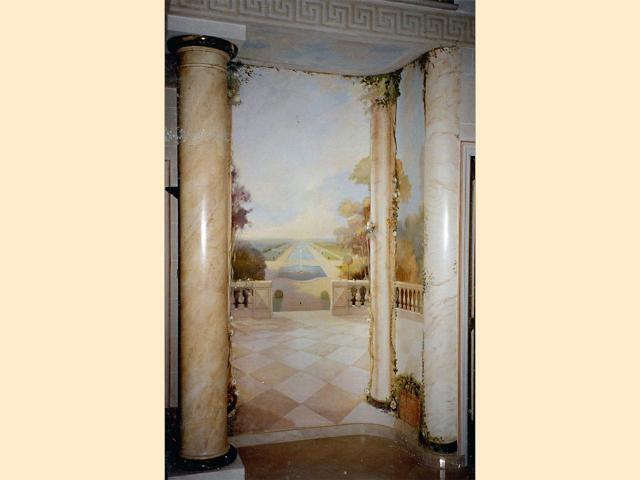 Panoramique - Entrée-Hôtel particulier - Prestige.