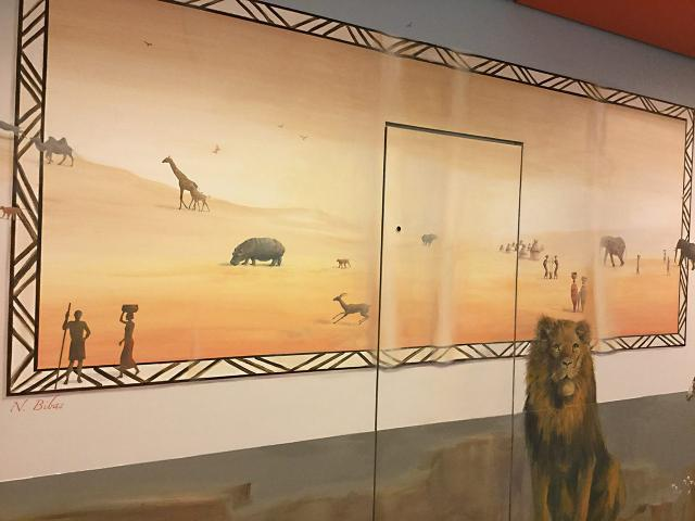 Panoramique - Espace d'accueil du public - Le voyage à travers les contes.