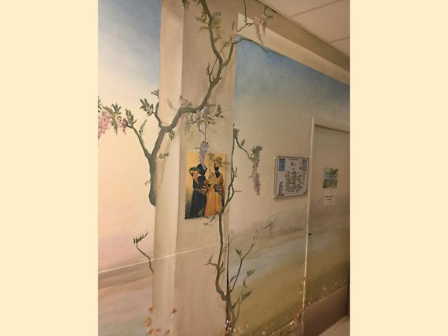 Neonat - Centre Hospitalier Sud Francilien - Corbeil - Pédiatrie - Balade au bord de l'eau - Portage - Décor Mural