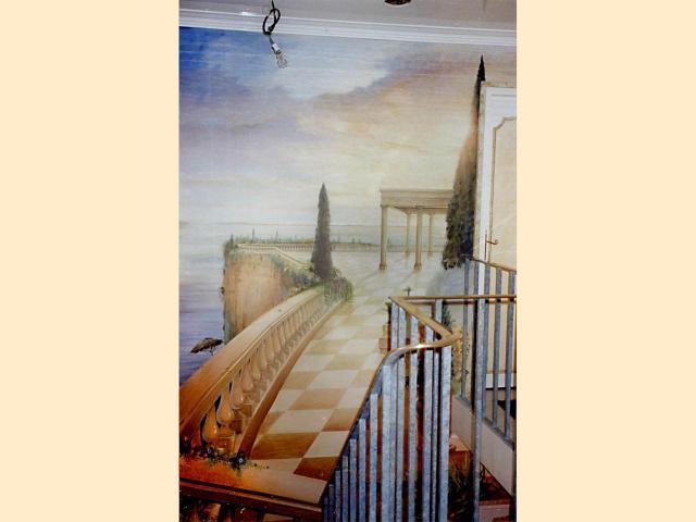 Panoramique - Montée d'escalier - Hôtel particulier - Prestige.