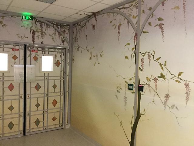 Neonat - Centre Hospitalier Sud Francilien - Corbeil - Pédiatrie - Couloir Néonatalogie