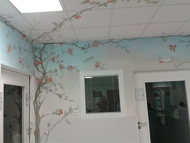 Neonat - Centre Hospitalier Sud Francilien - Corbeil - Pédiatrie - Soins intensifs - Décor Mural