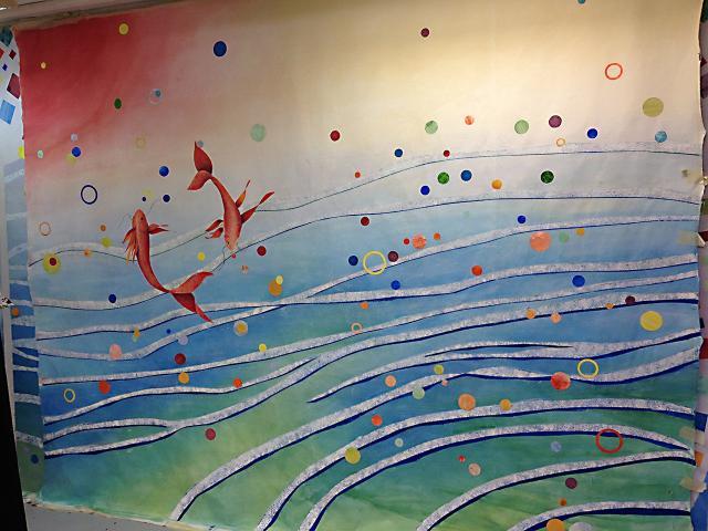 UMJ - Centre Hospitalier Lagny - Marne la Vallée - Jossigny - Expo - UMJ - Décor Mural
