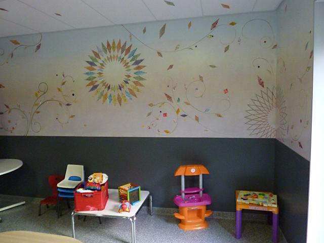 UMJ - Centre Hospitalier Lagny - Marne la Vallée - Jossigny - UMJ - Décor Mural