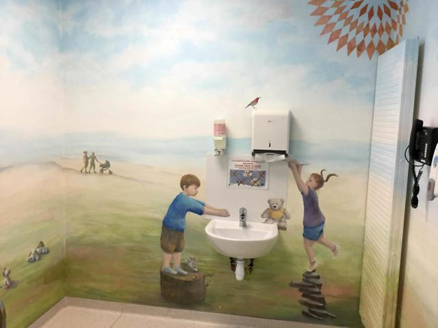 Fresque 2 - Accueil -  Hôpital