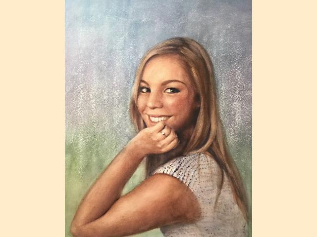 Portrait aquarelle sur papier