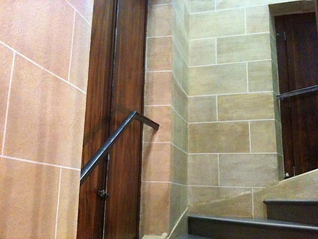 Fausse pierre et faux bois - Escalier - Monument